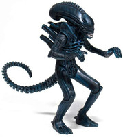 "Super7 Aliens ReAction Alien Warrior C Nightfall Blue Action Figure 3.75"""