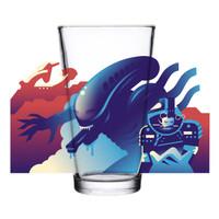 SUPER7 Drinkware Xenomorph Pint Glass 16 ounce