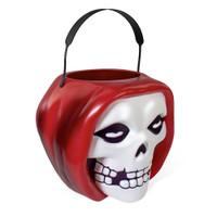 SUPER7 Misfits SuperBucket Red Fiend Retro Halloween Plastic Bucket