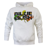 Billie Eilish UO Exclusive Logo White Hoodie