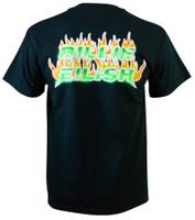 Billie Eilish Burning Blohsh T-Shirt Black