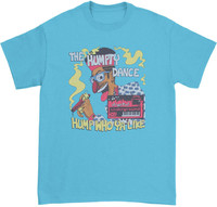 Digital Underground Humpty Dance Slim Fit T-Shirt Aqua