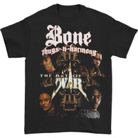 Bone Thugs-N-Harmony Men's Art of War T-Shirt Black