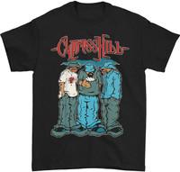 Cypress Hill Men's Blunted Black Slim-Fit T-Shirt
