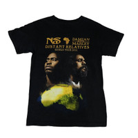 Damian Marley and NAS Men's Distant Relatives Tour 2011 T-Shirt
