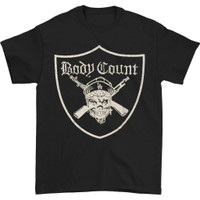 Body Count Men's Pirate Slim-Fit Black T-Shirt