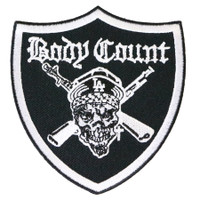 Body Count Pirate Sew Glue Iron On Patch