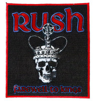 Rush Farewell to Kings LP Sew on Glue On Patch