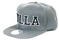 Damian Marley Zilla Snapback Flat Bill Snapback Hat Gray