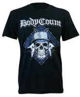 Body Count Men's Attack Slim-Fit Black T-Shirt