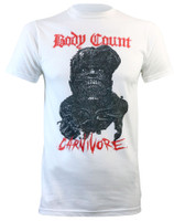 Body Count Men's Carnivore Slim-Fit White T-Shirt