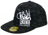 Ice Cube Lench Mob Embroidered and Printed Stretch Fit Hat L/XL