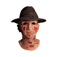 Trick or Treat Studios A Nightmare On Elm Street Freddy Krueger Mask With Hat