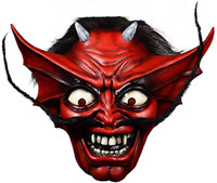 Trick or Treat Studios Iron Maiden Number of The Beast Devil Mask