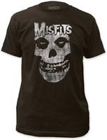 Misfits Distressed Skull T-Shirt