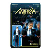 Super7 Anthrax Among the Living Preacher ReAction Figure 3.75""