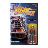 Super7 Back to the Future 2 Future Marty ReAction Figure 3.75""