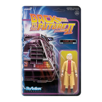 Super7 Back to the Future 2 Doc Brown Future ReAction Figure 3.75""