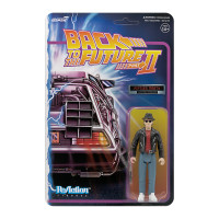 Super7 Back to the Future 2 Marty McFly 1950s ReAction Figure 3.75""
