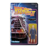 Super7 Back to the Future 2 Biff Tannen Bathrobe ReAction Figure 3.75""