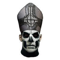 Trick or Treat Studios Ghost Papa II Emeritus Deluxe Mask With Hat