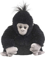 """Eco Pals Gorilla 12"""" by Wildlife Artists Eco-Friendly Stuffed Animal Plush Toy, Made from 100% Post-Consumer and Recycled Materials"""