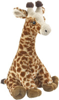 """Eco Pals Giraffe 17"""" by Wildlife Artists Eco-Friendly Stuffed Animal Plush Toy, Made from 100% Post-Consumer and Recycled Materials"""