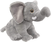 """Eco Pals Elephant 13"""" by Wildlife Artists Eco-Friendly Stuffed Animal Plush Toy, Made from 100% Post-Consumer and Recycled Materials"""