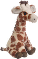 """Eco Pals Giraffe 11"""" by Wildlife Artists Eco-Friendly Stuffed Animal Plush Toy, Made from 100% Post-Consumer and Recycled Materials"""