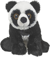 """Eco Pals Giant Panda 8.5"""" by Wildlife Artists Eco-Friendly Stuffed Animal Plush Toy, Made from 100% Post-Consumer and Recycled Materials"""