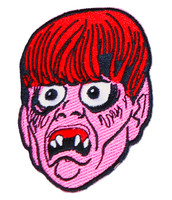 "Topstone Horror Creep Beat Retro Horror Halloween Embroidered Patch 3"" x 3.5"""