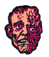 """Topstone Horror Horrible Melting Man Retro Horror Halloween Embroidered Patch 3"""" x 3.5"""""""