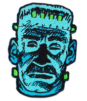 "Topstone Horror Monster Retro Horror Halloween Embroidered Patch 3"" x 3.5"""