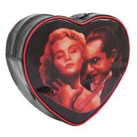 Universal Bela Lugosi Dracula Choke Heart Shaped Mini Backpack