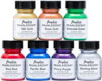 Angelus Pearlescent Leather Paint 1oz 7 Color Set