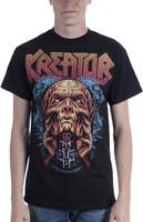 Kreator Men's Warrior T-Shirt Black