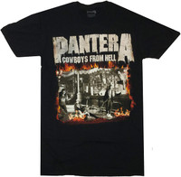Pantera Men's Cowboys From Hell T-Shirt Black