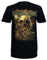 Lamb of God Men's Vineskull T-Shirt Black