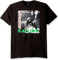 The Clash Men's London Calling T-Shirt Black