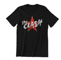 The Clash Men's Star Logo T-Shirt Black