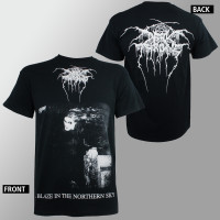 Dark Throne T-Shirt - A Blaze in the Northern Sky