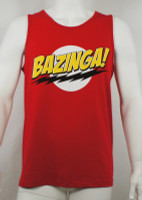 Big Bang Theory Tank top - Bazinga