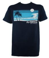 Fu Manchu T-Shirt - Surf San Clemente