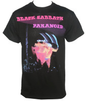 Black Sabbath T-Shirt - Paranoid Motion Trails