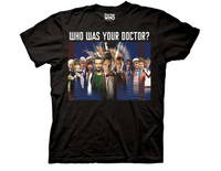 Doctor Who All Doctors Montage T-Shirt