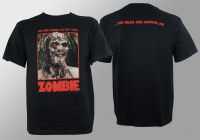 Zombie T-Shirt - Full Color Poster