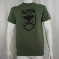 Clutch T-Shirt - Elephant Riders Olive