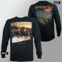 Bathory Long Sleeve Shirt - Blood Fire Death