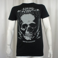 Asking Alexandria T-Shirt - Jumbo Skull Jack UK Rock