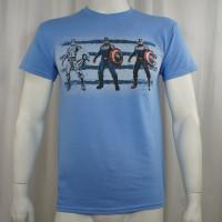 Captain America T-Shirt - Cap Three 3-Up